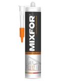 """Герметик универсальный """"MIXFOR Universal Sillicone"""" 280 мл белый, прозрачный"""
