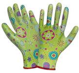Перчатки нейлоновые с силиконовым покрытием (садовые)