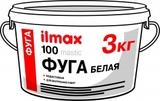Фуга белая для швов (затирка швов) ilmax 100 mastic